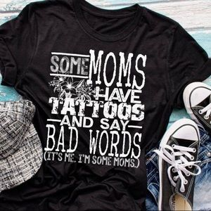 T-shirts, graphic tee, Mom